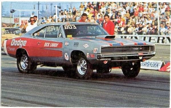 Dodge Charger на гоночном треке