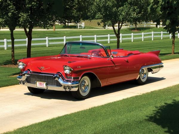 Cadillac Eldorado 1957 год