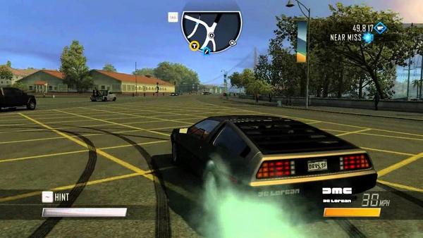 DeLorean DMC-12 в компьютерных играх