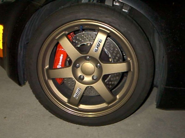 Nissan 350Z тормоза
