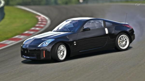 устойчивость Nissan 350Z