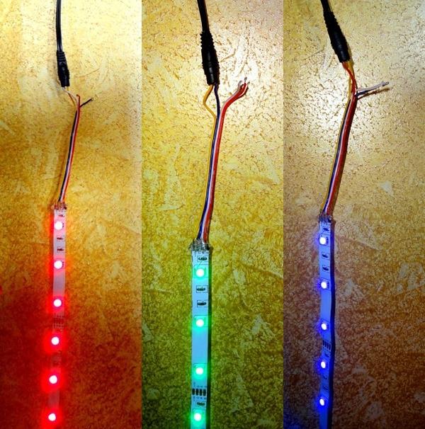Светодиодная лента подсветка своими руками