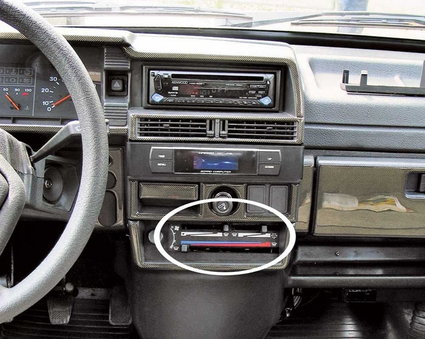 Панель управления кондиционером авто