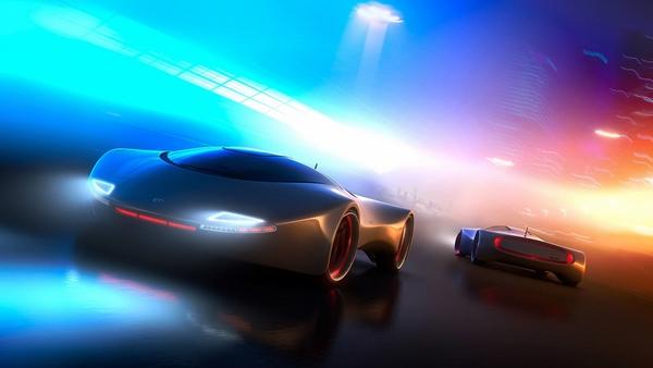 Концепт спорткаров будущего