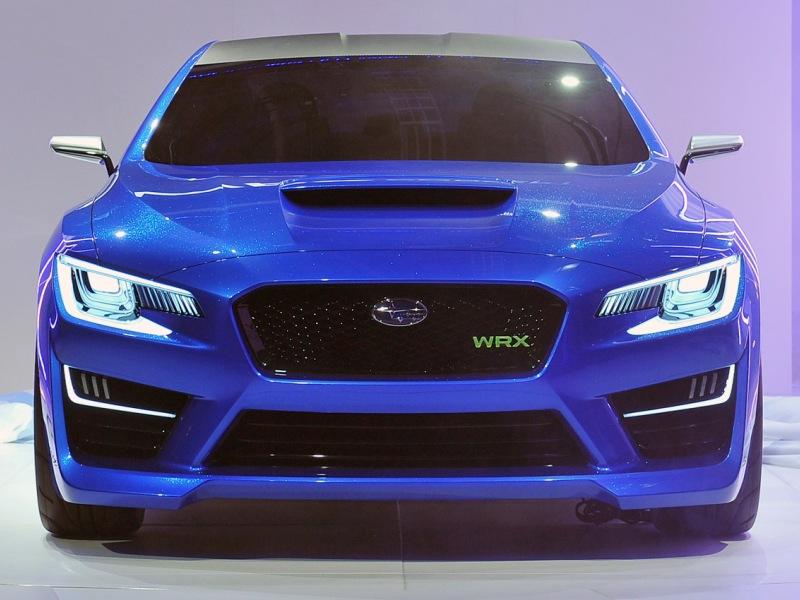 Воздухозаборник на Subaru