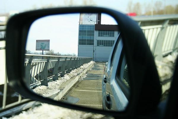 Зеркало заднего вида с подогревом