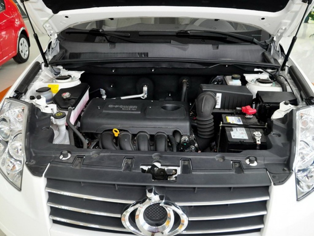 Geely GX7 двигатель
