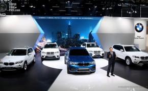 Новая модель BMW X4 2014 года