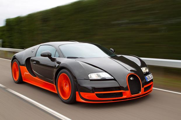 новая bugatti veyron super sport