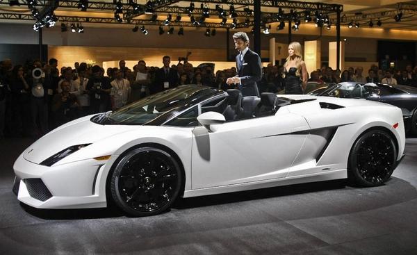 Lamborghini Gallardo LP560-4 в модификации Spyder