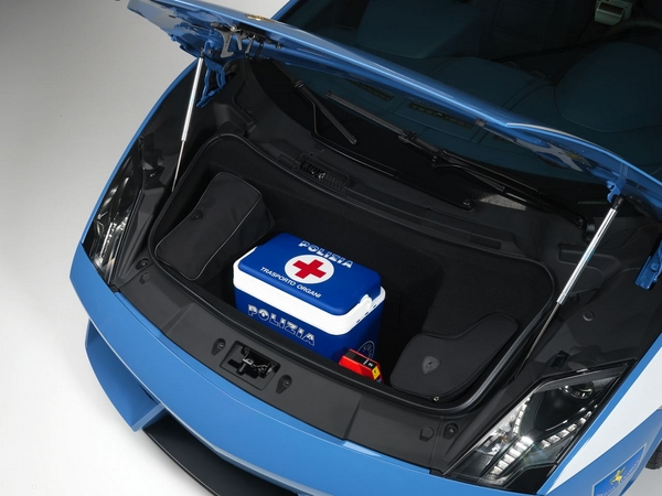 медицинское оборудования для Lamborghini Gallardo LP560-4 Polizia