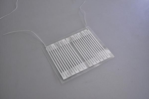 Прямоугольный заводской нагревательный элемент для подогрева зеркал заднего вида