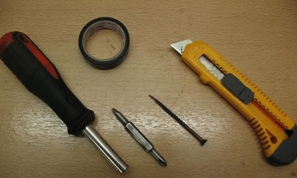 нужные инструменты